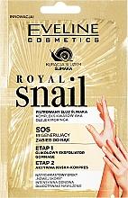 Parfums et Produits cosmétiques Masque-gommage régénérant pour les mains - Eveline Cosmetics Royal Snail Sos Regenerating Hand Treatment