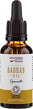 Parfums et Produits cosmétiques Huile bio de baobab pour visage et cheveux - Wooden Spoon Baobab Oil