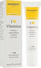 Parfums et Produits cosmétiques Crème à l'huile d'amande douce pour contour des yeux - Marbert I love Vitamins Eye Care