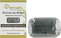 Parfums et Produits cosmétiques Savon naturel au charbon noir pour corps - Dermaglin Natural Detox
