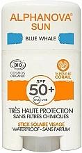 Parfums et Produits cosmétiques Stick solaire - Alphanova Sun Blue Whale SPF50+