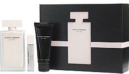 Parfums et Produits cosmétiques Narciso Rodriguez For Her - Coffret (eau de parfum/100ml + eau de parfum/10ml + lait corps parfumé/75ml)