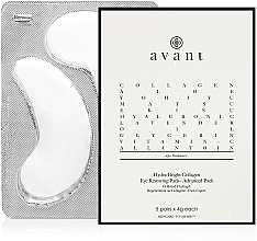 Parfums et Produits cosmétiques Patchs au collagène pour contour des yeux - Avant Advanced Pack-Hydra-Bright Collagen Eye Restoring Pads