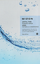 Parfums et Produits cosmétiques Masque tissu à l'acide hyaluronique pour visage - Mizon Joyful Time Essence Mask
