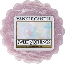 Parfums et Produits cosmétiques Tartelette de cire parfumée Mots Doux - Yankee Candle Sweet Nothings Tarts Wax Melts