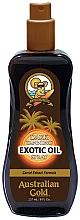 Parfums et Produits cosmétiques Spray d'huile bronzante pour corps - Australian Gold Dark Tanning Exotic Oil Spray