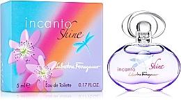 Parfums et Produits cosmétiques Salvatore Ferragamo Incanto Shine - Eau de Toilette ( mini )