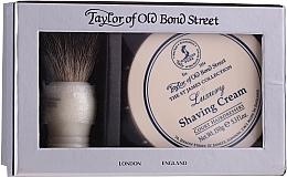 Parfums et Produits cosmétiques Taylor of Old Bond Street - Coffret (blaireau de rasage + crème à raser/150g)