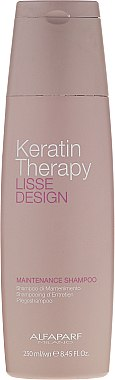 Shampooing à l'huile de babassu - Alfaparf Lisse Design Keratin Therapy Maintenance Shampoo