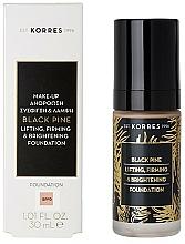 Parfums et Produits cosmétiques Fond de teint liftant et raffermissant - Korres Black Pine Lifting, Firming & Brightening Foundation
