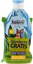 Parfums et Produits cosmétiques Coffret cadeau - Bobini Kids Set (shm/gel/330ml + wet/wipes/15pc)