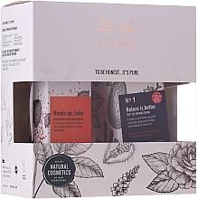 Parfums et Produits cosmétiques Alkemie - Coffret (crème contour des yeux/15ml + crème pour mains/50ml)