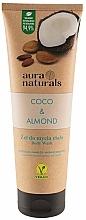 Parfums et Produits cosmétiques Gel douche, Noix de coco et Amande - Aura Naturals Coco & Almond Body Wash