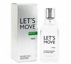 Parfums et Produits cosmétiques Benetton Let's Move - Eau de Toilette