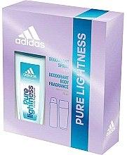 Parfums et Produits cosmétiques Adidas Pure Lightness - Set (déodorant/75ml+spray/150ml)