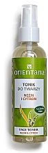 Parfums et Produits cosmétiques Lotion tonique au neem et citron pour visage - Orientana Face Toner Neem & Citron