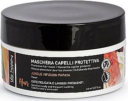 Parfums et Produits cosmétiques Masque à l'huile de macadamia pour cheveux - Bio Happy Jungle Infusion Protective Hair Mask