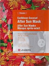 Parfums et Produits cosmétiques Masque après-soleil pour visage, Noix de coco - Leaders 7 Wonders Caribean Coconut After Sun Mask