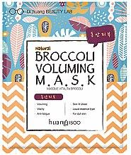 Parfums et Produits cosmétiques Masque tissu vitalité au brocoli pour visage - Huangjisoo Broccoli Voluming Mask