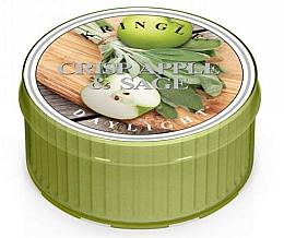 Parfums et Produits cosmétiques Bougie chauffe-plat - Kringle Candle Daylight Crisp Apple & Sage