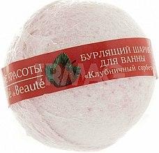 Parfums et Produits cosmétiques Bombe de bain à la fraise - Le Cafe de Beaute Bubble Ball Bath