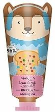 Parfums et Produits cosmétiques Crème à l'huile de macadamia pour mains, Gâteau aux fruits - Marion Funny Animals Hand Cream