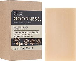 Parfums et Produits cosmétiques Savon - Baylis & Harding Goodness Sea Lemongrass & Ginger Natutal Soap