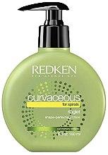 Lotion à l'huile de moringa pour cheveux - Redken Curvaceous Ringlet Shape-Perfecting Lotion — Photo N1