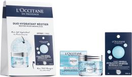 Parfums et Produits cosmétiques L'Occitane Aqua Reotier - Set (gel pour visage/50ml + masque pour visage/6ml)