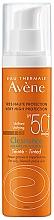 Parfums et Produits cosmétiques Crème solaire teintée pour visage - Avene Solaire Cleanance Tinted SPF50+ Sun Cream