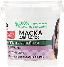 Parfums et Produits cosmétiques Masque à la bardane pour cheveux - FitoKosmetik Recettes folkloriques