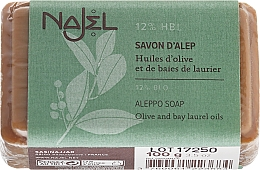 Parfums et Produits cosmétiques Savon à l'huile d'olive et de baies de laurier 12% - Najel