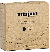 Parfums et Produits cosmétiques Poudre dentaire naturelle - Minima Organics Natural Tooth Powder