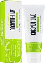 Parfums et Produits cosmétiques Dentifrice - Schmidt's Coconut Lime Toothpaste