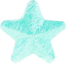 Parfums et Produits cosmétiques Bombe de bain effervescente, étoile, Menthe - IDC Institute Bath Fizzer Star