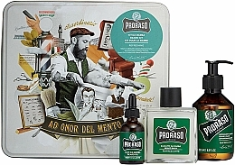 Parfums et Produits cosmétiques Proraso Refreshing Gift Set - Set (shampooing pour barbe/200ml + baume pour barbe/100ml + huile pour barbe/30ml)