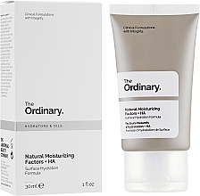 Parfums et Produits cosmétiques Crème hydratante aux 11 acides aminés pour visage - The Ordinary Natural Moisturizing Factors + HA