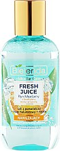 Parfums et Produits cosmétiques Eau micellaire à l'eau bioactive d'agrumes et jus d'orange - Bielenda Fresh Juice Micellar Water Orange