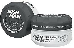 Parfums et Produits cosmétiques Gel-cire coiffant - Nishman Hair Styling Gel Wax B9 Cola
