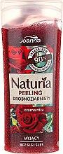 Parfums et Produits cosmétiques Gommage lavant à grains fins, Rose noire - Joanna Naturia Peeling
