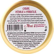 Crème à l'huile d'argan pour visage - Purity Vision Rose Cream — Photo N2