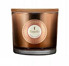 Parfums et Produits cosmétiques Bougie parfumée à la cire de soja, Vanille et Framboise - Flagolie Fragranced Candle Vanilla And Raspberry