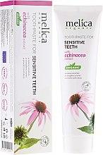 Parfums et Produits cosmétiques Dentifrice sensible à l'extrait d'échinacée - Melica Organic