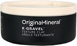 Parfums et Produits cosmétiques Argile texturante à l'huile de jojoba pour cheveux - Original & Mineral K-Gravel Texture Clay