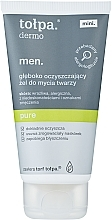 Parfums et Produits cosmétiques Gel nettoyant à l'acide salicylique pour visage - Tolpa Dermo Men Pure Gel
