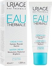 Parfums et Produits cosmétiques Crème d'eau légère hypoallergénique pour visage - Uriage Eau Thermale Water Cream