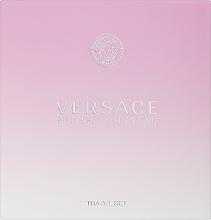Parfums et Produits cosmétiques Versace Bright Crystal - Coffret (eau de toilette/90ml + lotion corporelle/100ml)