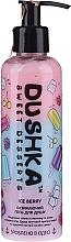 Parfums et Produits cosmétiques Gel douche à l'huile d'amande douce - Dushka Sweet Desserts Ice Berry Shower Gel