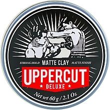 Parfums et Produits cosmétiques Argile coiffante mate, fixation forte - Uppercut Deluxe Matt Clay