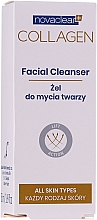 Parfums et Produits cosmétiques Gel nettoyant au collagène marin et Or pour visage - Novaclear Collagen Facial Cleanser